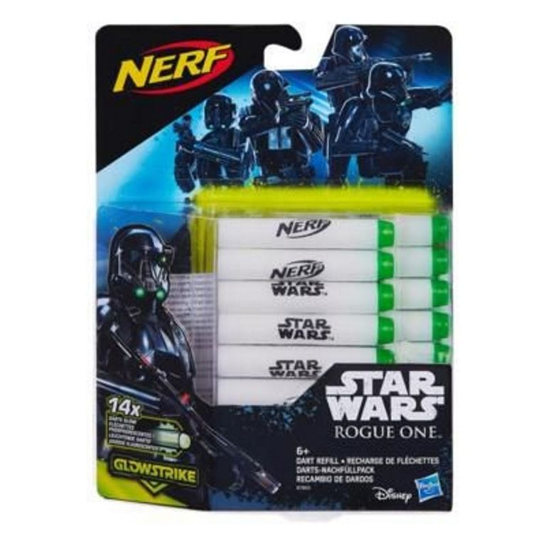 Refil de Dardos Nerf Glowstrike Star Wars Rogue One - Hasbro