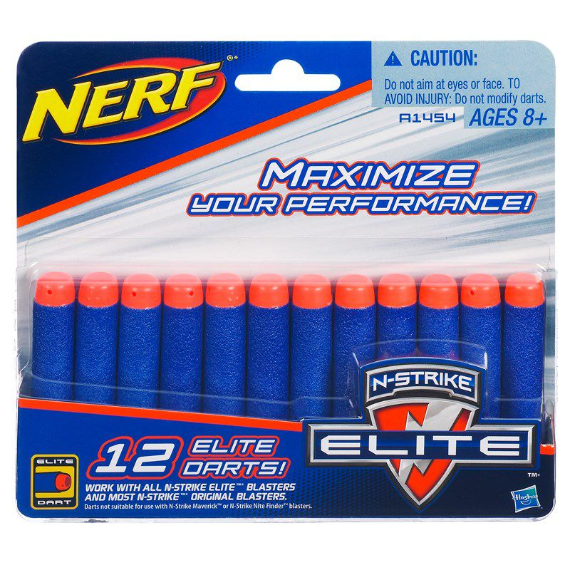 Refil Nerf N-Strike Elite 12 Dardos - Hasbro