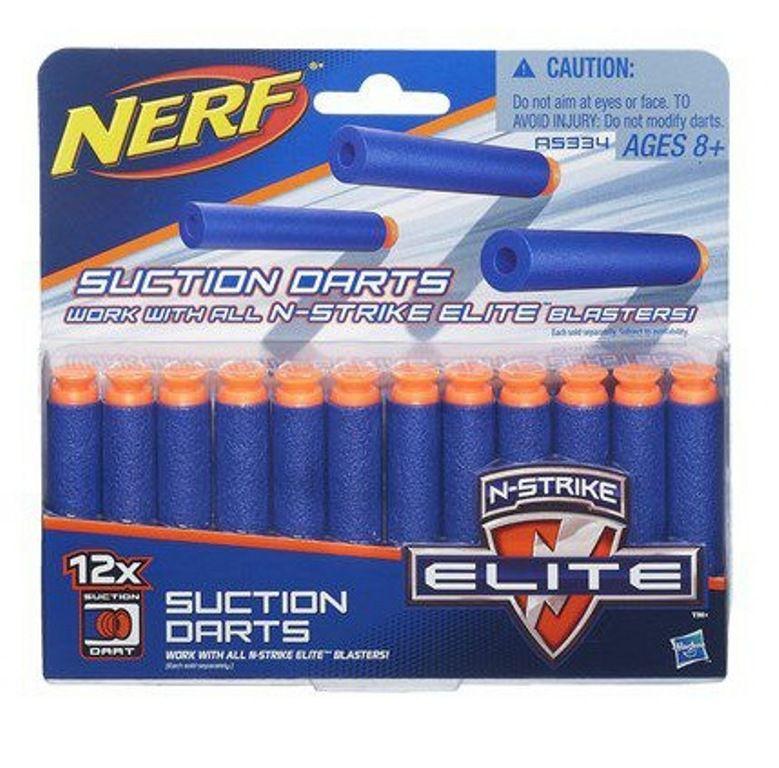 Refil Nerf N-Strike Elite Dardos de Sucção 12 Dardos - Hasbro