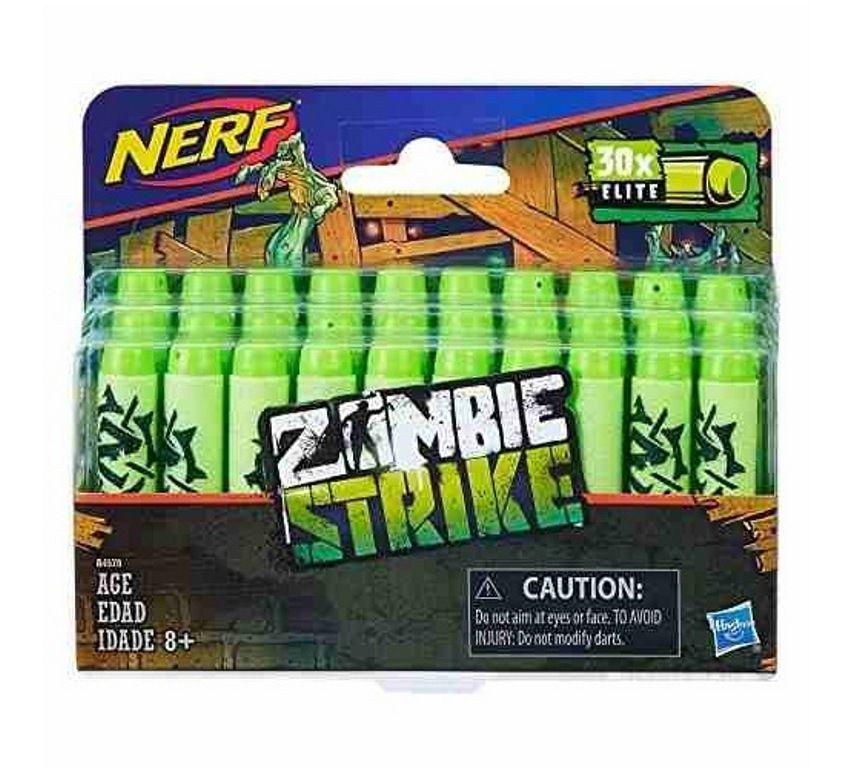 Refil Nerf Zombie Strike Elite com 30 Dardos - Hasbro