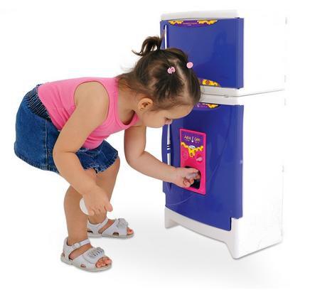 Refrigerador Duplex Casinha Flor Luxo - Xalingo