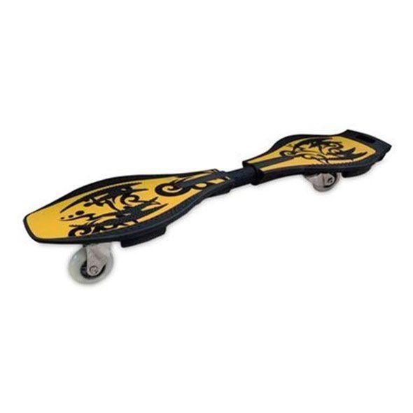 Skate In Line Boy Radical  2 Rodas Amarelo - Fênix