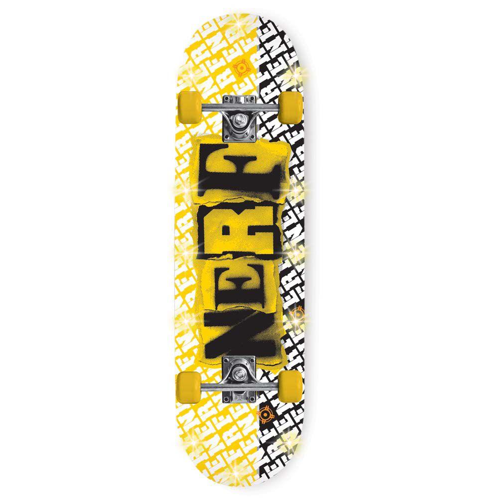 Skate Nerf com Led - By Kids