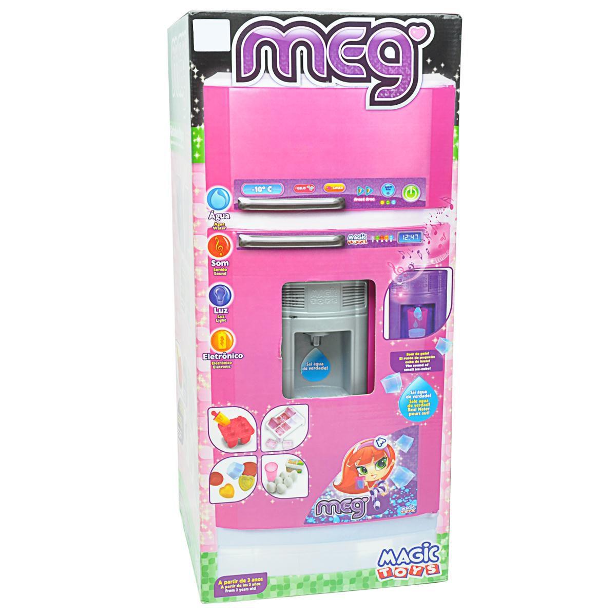 Super Geladeira Mágica Sai Água Meg - Magic Toys