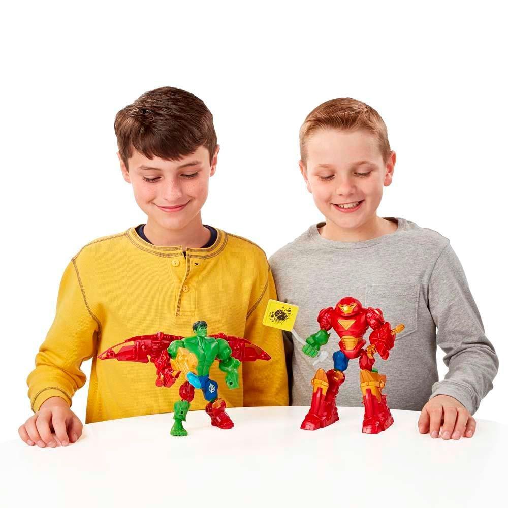 Super Hero Mashers Hulk Buster VS. Hulk Mash Marvel - Hasbro