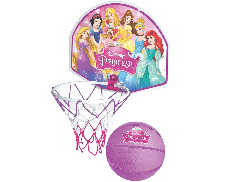 Tabela de Basquete Disney Princesa com Bola - Líder Brinquedos