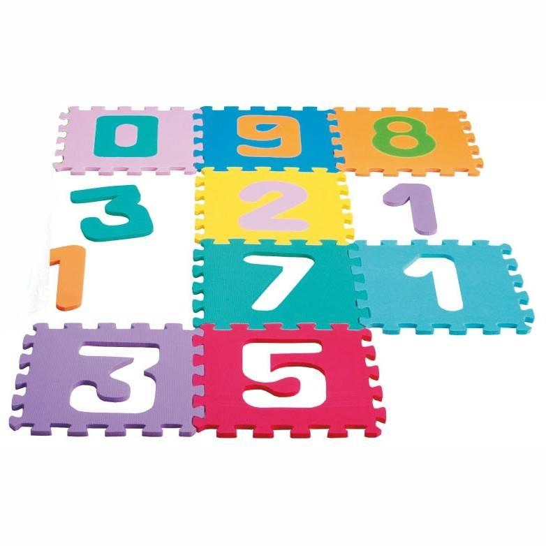 Tapete E.V.A Montapete Números - Nig Brinquedos