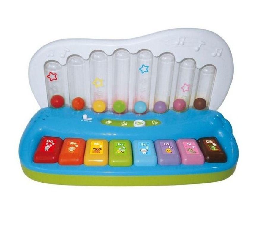 Tecladinho Inteligente com Luz e Som - Zoop Toys