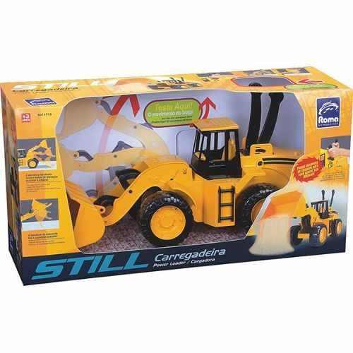 Trator Carregadeira Still - Roma Brinquedos