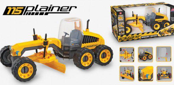 Trator Plainer 115 Motoniveladora Motor Grader - Usual Plastic