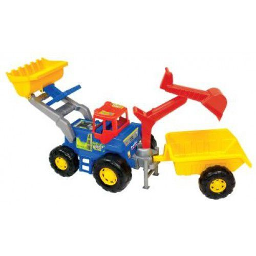 Trator Truck Super Azul - Magic Toys