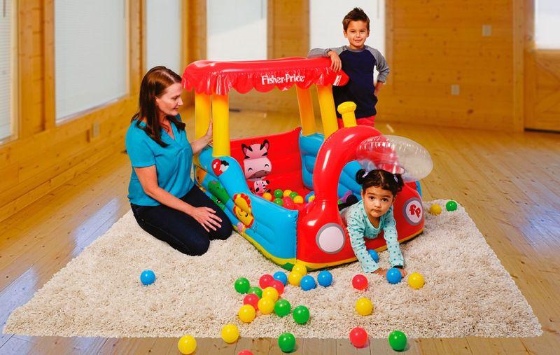 Trem Ball Pit Inflável com Bolinhas - Fisher-Price