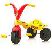 Triciclo Tigrão Vermelho e Amarelo - Xalingo