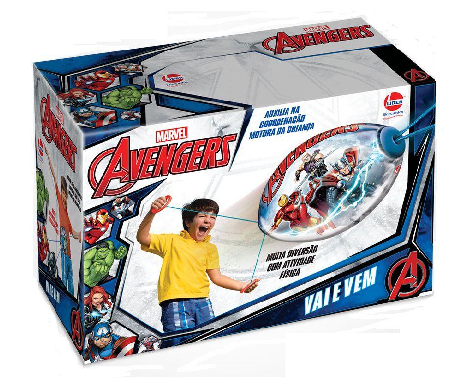 Vai e Vem Marvel Avengers - Lider Brinquedos