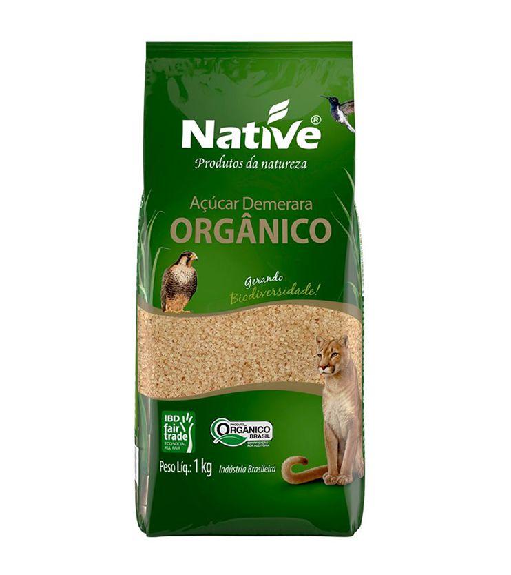 Açúcar Demerara Orgânico 1kg - Native Orgânicos