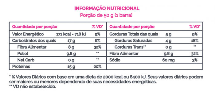Barra de Proteína Vegana Flow Baunilha + Frutas secas 50g - B-ON