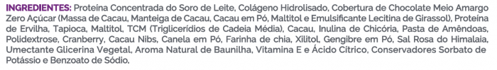 Barra de Proteína Whey Balance Cacau + Canela 50g - B-ON