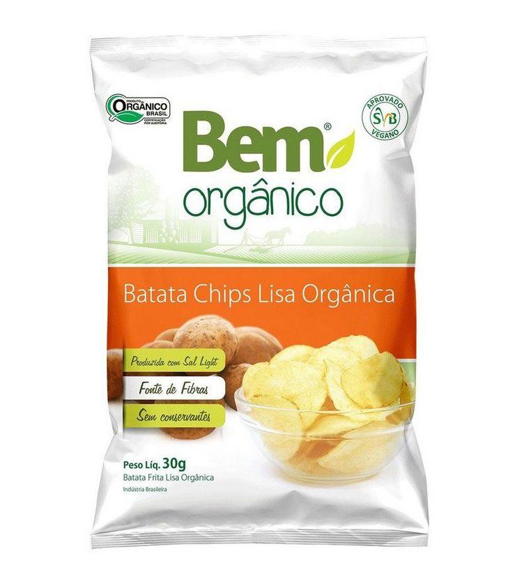 Batata Chips Lisa 30g - Bem Orgânico