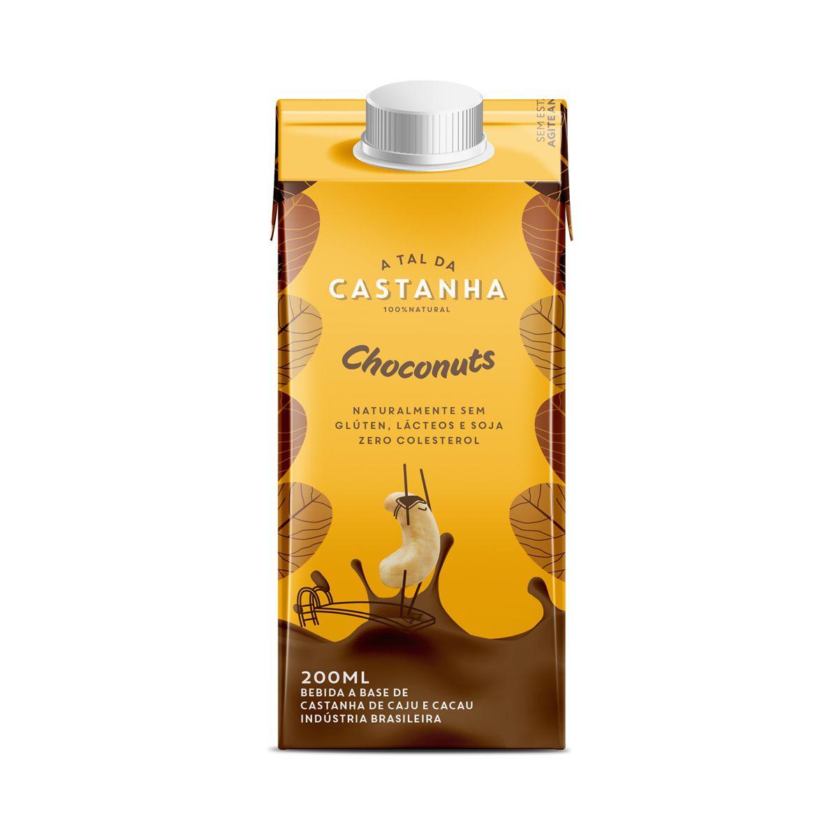 Bebida Vegetal Castanhas de Caju e Cacau Choconuts 200ml - A tal da Castanha