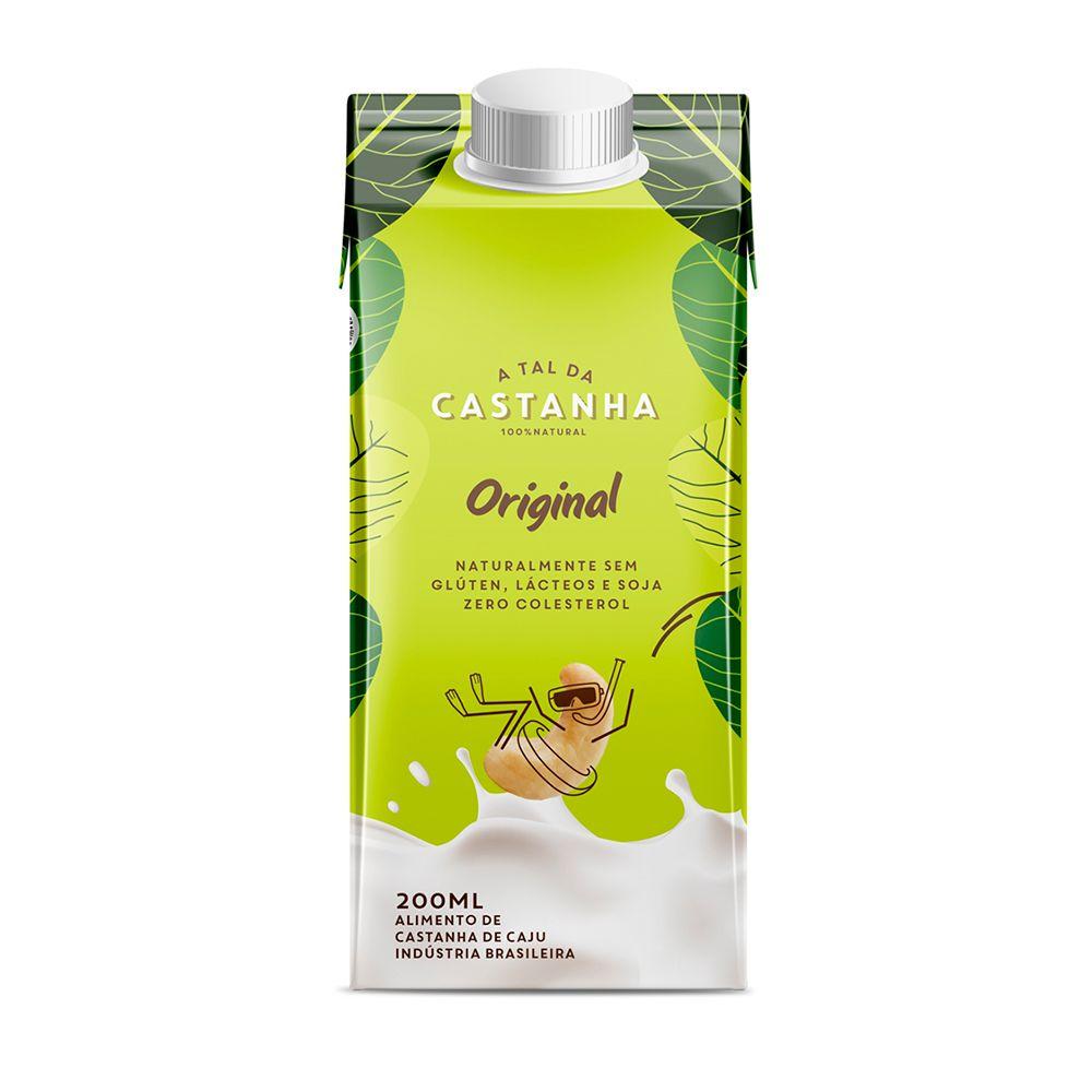 Bebida Vegetal Castanhas de Caju Original 200ml - A tal da Castanha