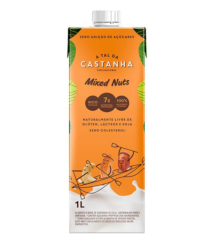Bebida Vegetal Mixed Nuts 1 Litro - A tal da Castanha