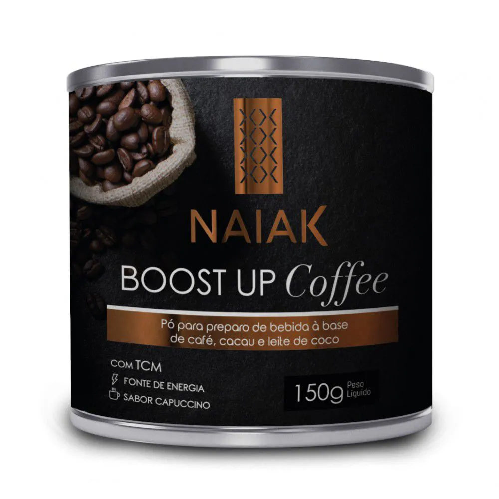 Boost Up Coffee sabor Capuccino 150g - Naiak