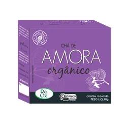 Chá Amora Orgânico 10 Sachês - Campo Verde