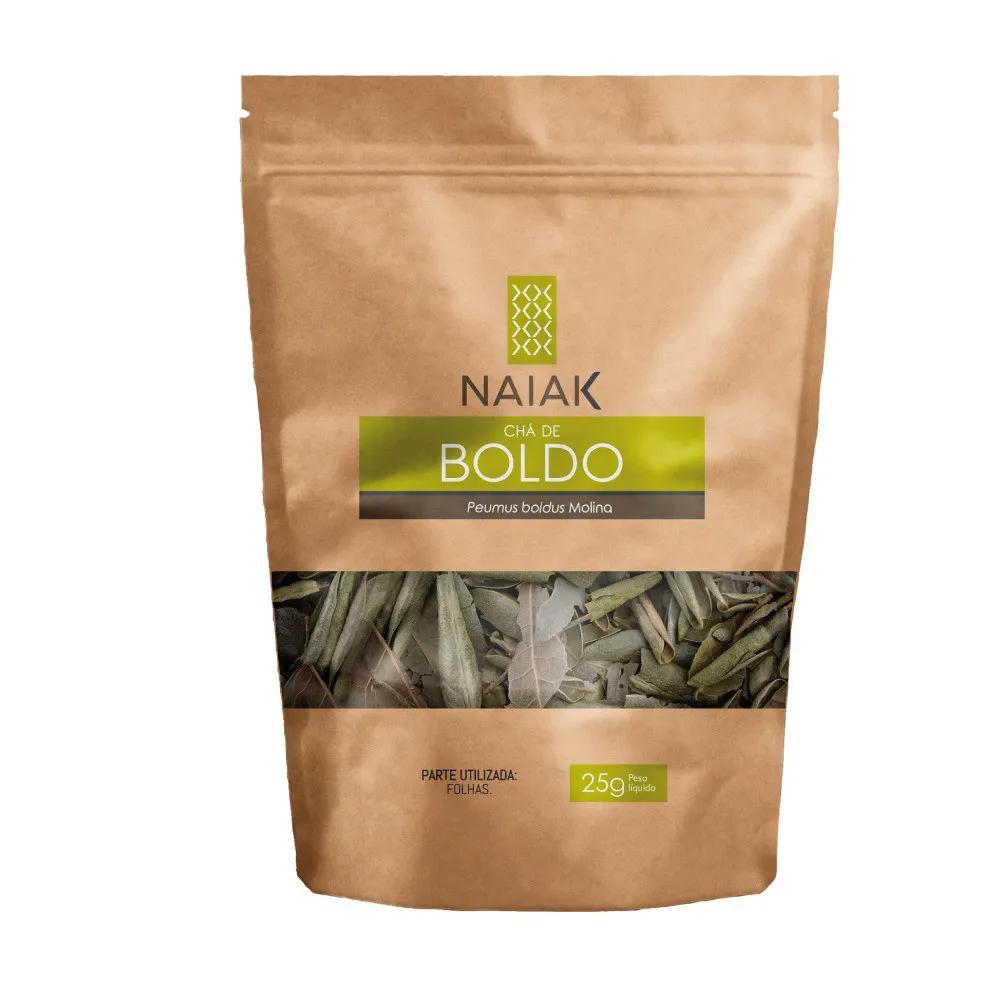 Chá de Boldo In Natura 25g - Naiak