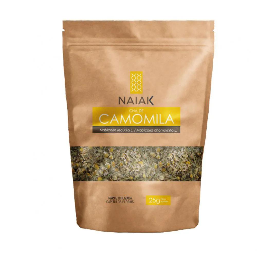 Chá de Camomila In Natura 25g – Naiak