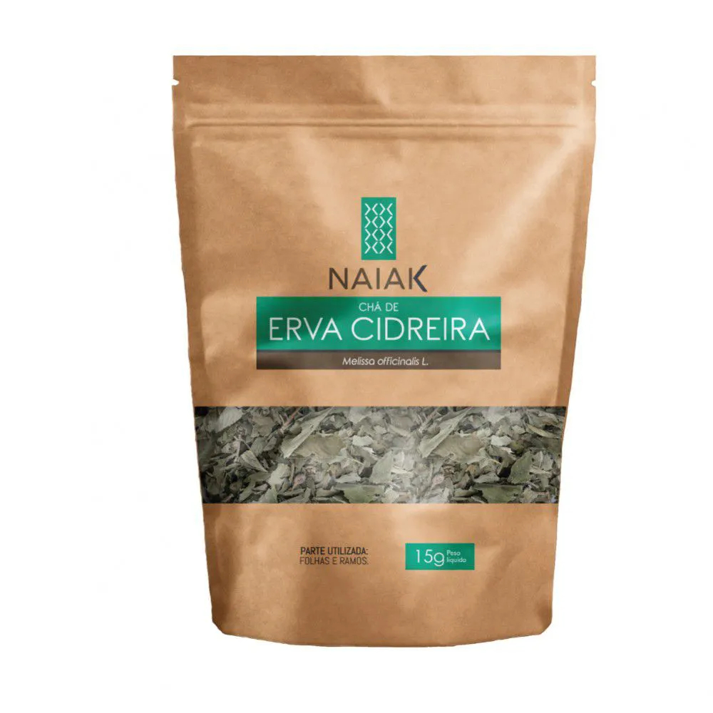 Chá de Erva Cidreira In Natura 15g – Naiak
