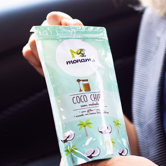 Chips de Coco com Melado 45g - Monama