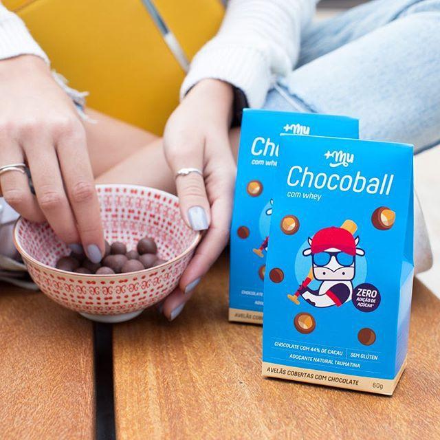 Chocoballs +Mu (60g) - Mais Mu