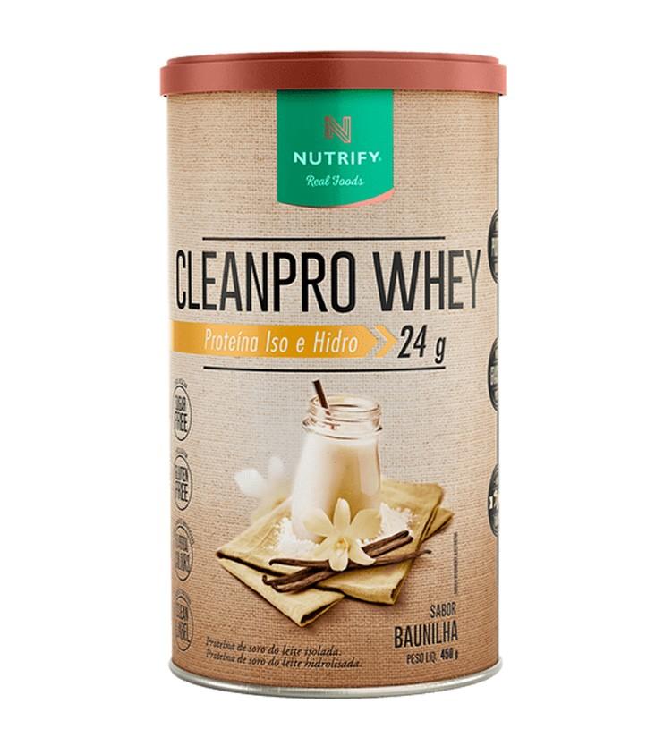 CLEANPRO Whey Sabor Baunilha 450g - Nutrify