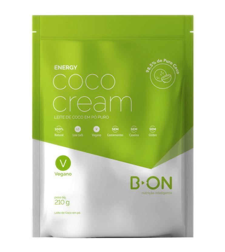 Coco Cream Leite de Coco em pó 210g - B-ON
