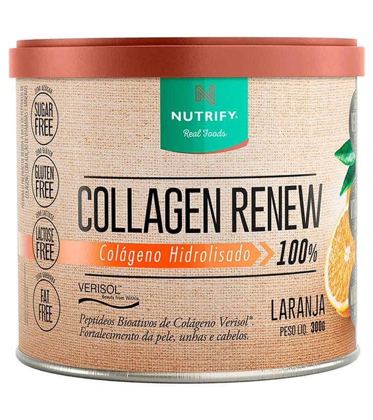 Collagen Renew Verisol Colágeno Hidrolizado Sabor Laranja 300g - Nutrify