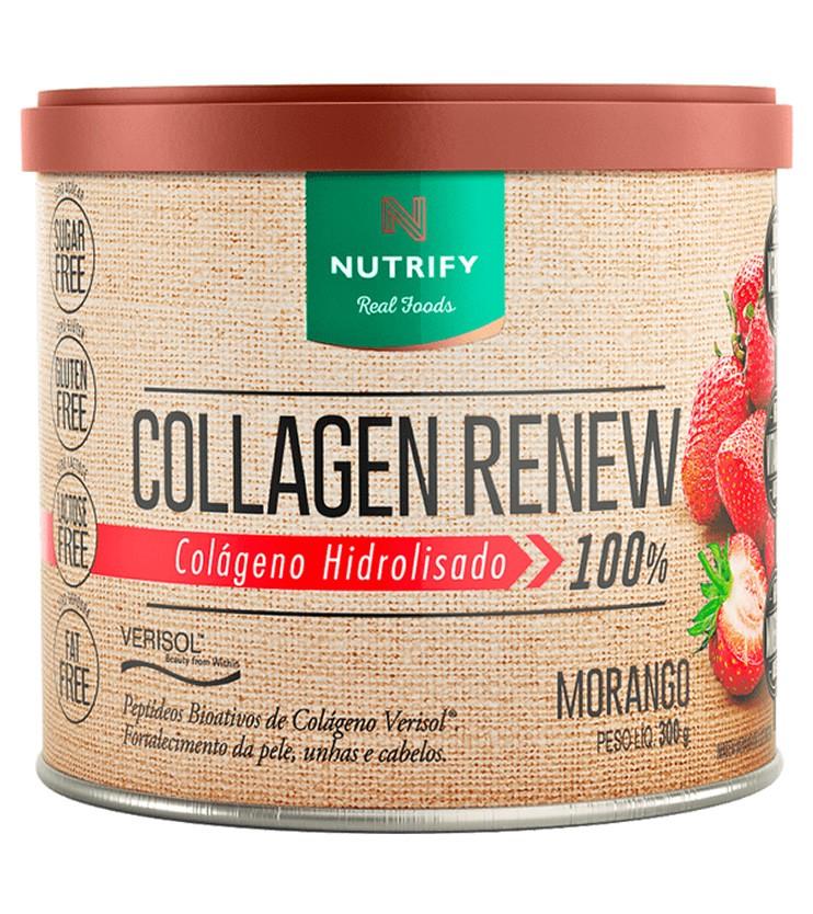 Collagen Renew Verisol Colágeno Hidrolizado Sabor Morango 300g - Nutrify