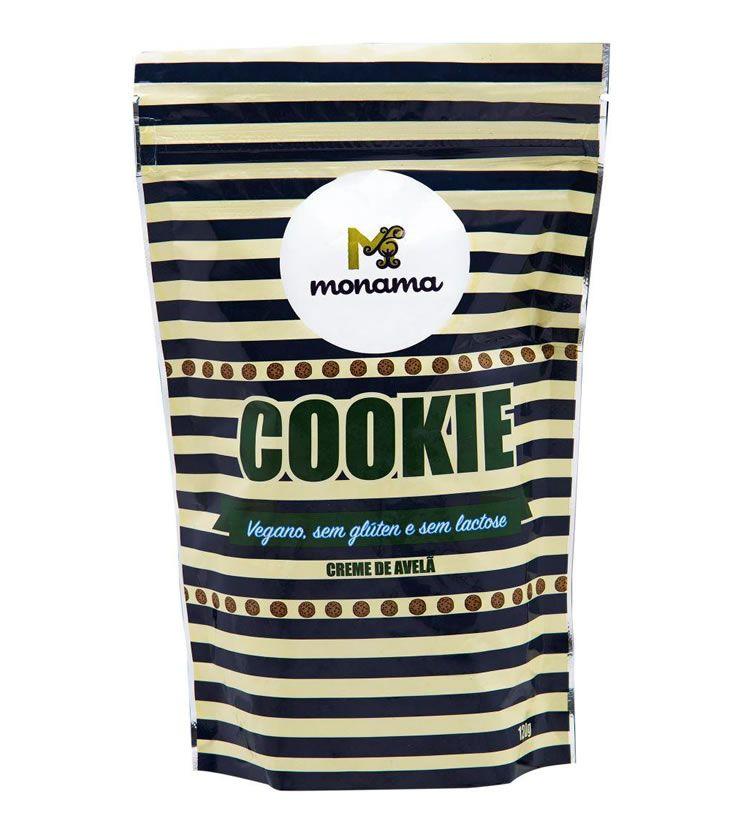 Cookie Creme de Avelã 90g - Monama