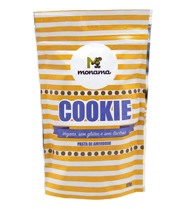 Cookie Pasta de Amendoim 120g - Monama