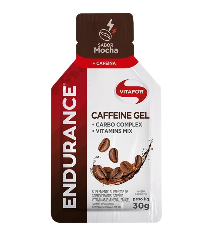 Endurance Caffeine Gel Sabor Mocha Sachê 30g - Vitafor