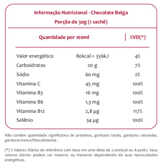 Endurance Energy Gel Sabor Banana Caixa com 12 Sachês 30g cada - Vitafor