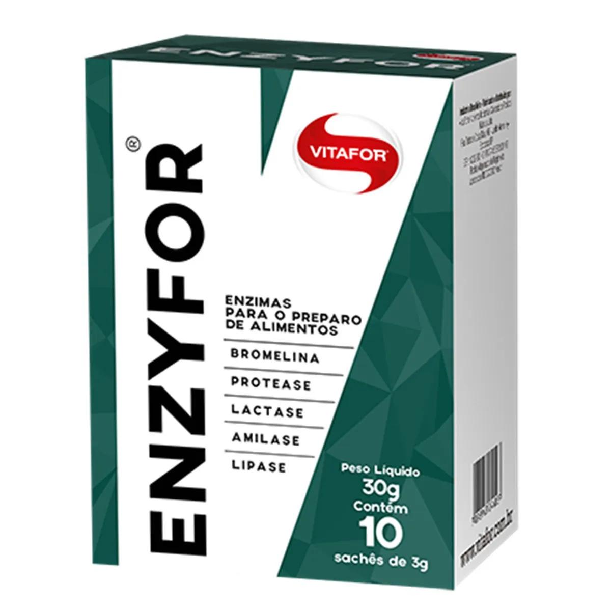 Enzyfor 10 sachês de 3g cada - Vitafor
