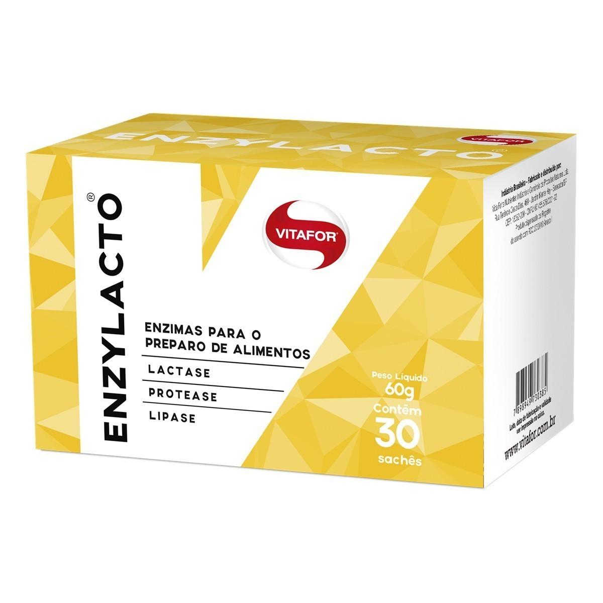 Enzylacto 30 sachês de 2g cada - Vitafor