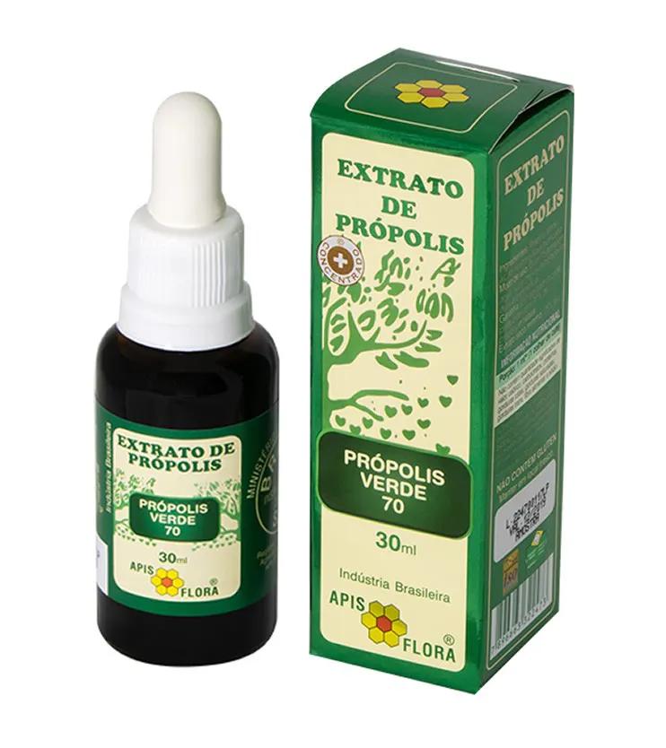 Extrato de Própolis Verde concentrado 30ml - Apis Flora