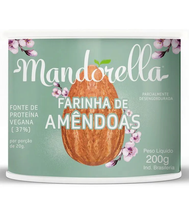 Farinha de Amêndoas 200g - Mandorella