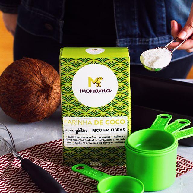 Farinha de Coco 200g - Monama