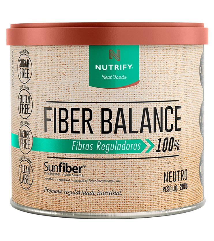 Fiber Balance Fibras Reguladoras Sabor Neutro 200g - Nutrify