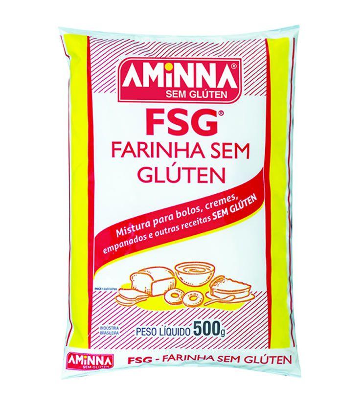 FSG Farinha sem Glúten 500g  - Aminna