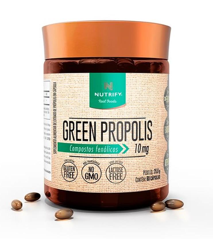 Green Própolis 60 cápsulas - Nutrify