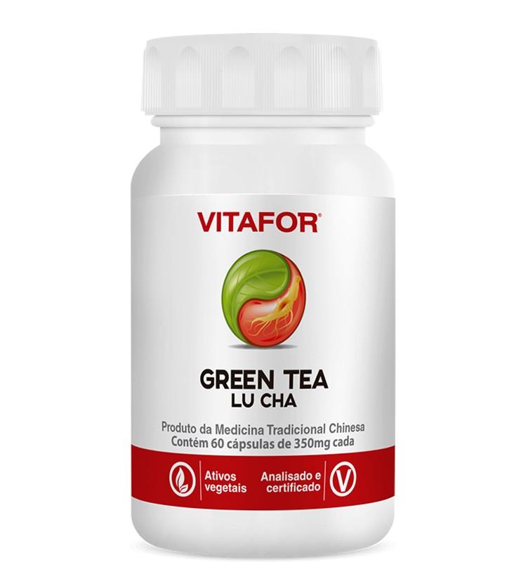 GREEN TEA Lu Cha 60 cápsulas de 375mg - Vitafor