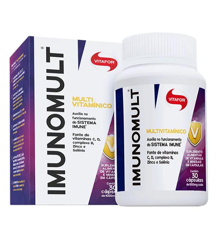 Imunomult Multi vitamínico 30 Cápsulas - Vitafor